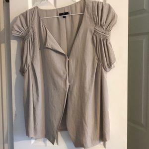 Gap XL blouse with snap front